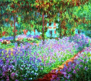 Claude Monet, Garden at Giverny