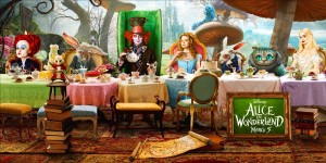 Alice in Wonderland di Tim Burton